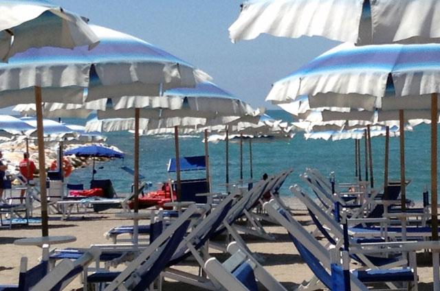 Bagno Ronchi di Ponente - Spiaggia